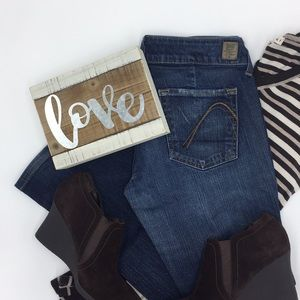 Guess Jeans sweetheart flare